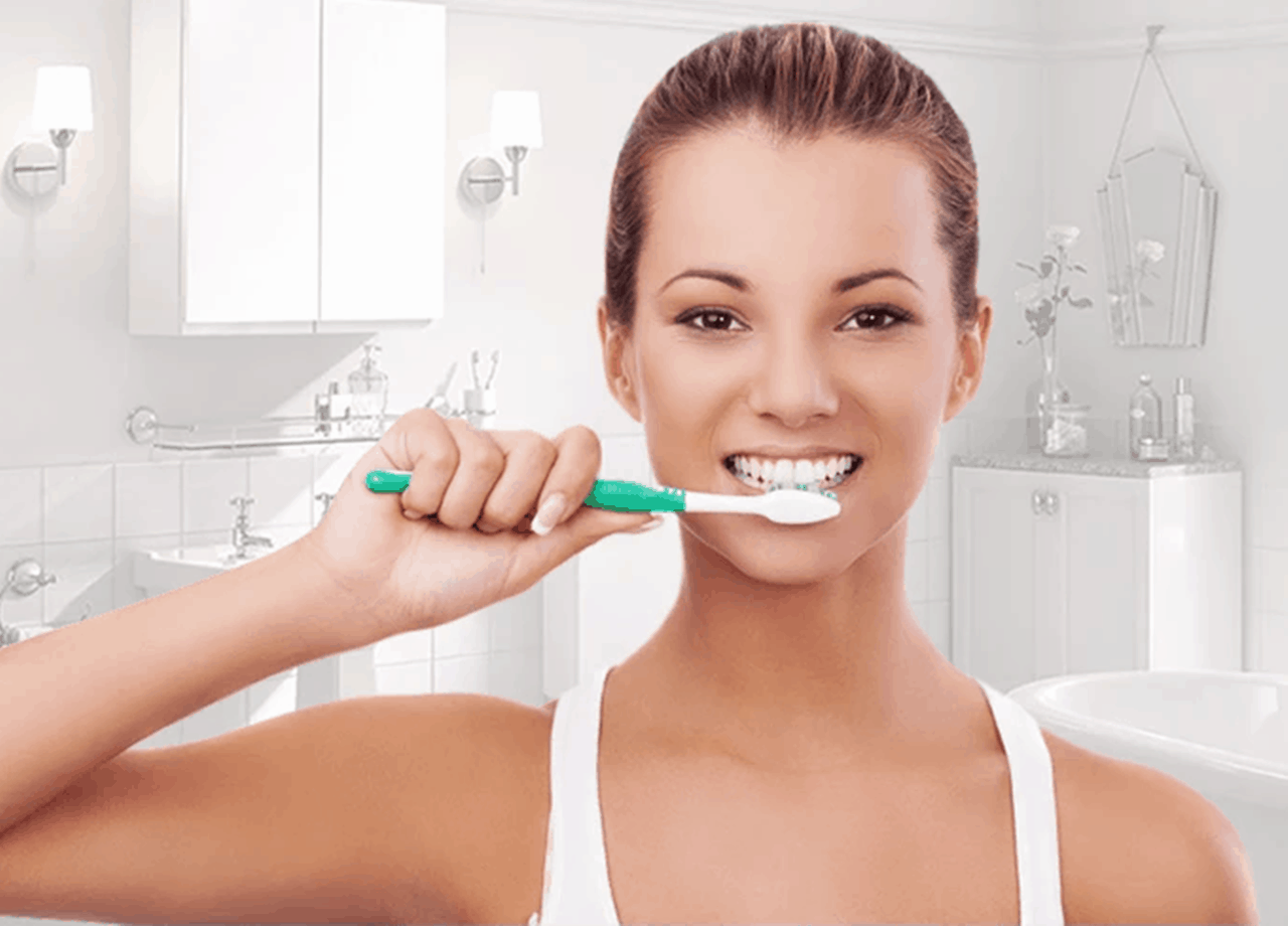 brushing teeth at night advantages
