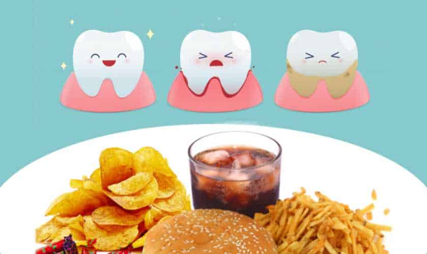 foods to avoid for teeth health